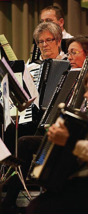 Jahreskonzert Akkordeon-Orchester Rorschach im Stadthof